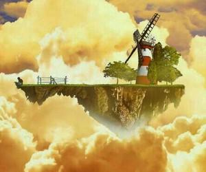 clouds, gorillaz, and music image