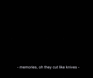 cut, knife, and memories image
