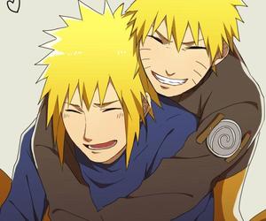 naruto, uzumaki, and yellow flash image