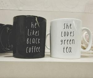 tea, coffee, and black image