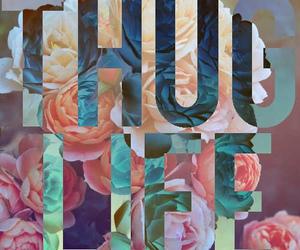 life, flowers, and thug life image
