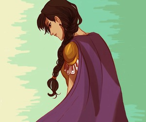 Reyna, percy jackson, and hoo image