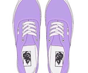 vans, overlay, and purple image