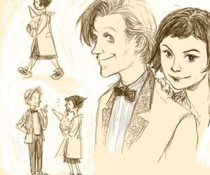 amelie, dr.who, and love image