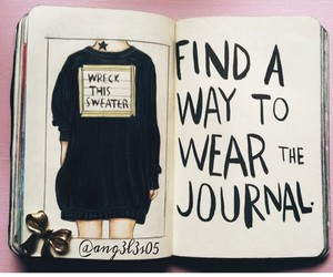 it, journal, and this image