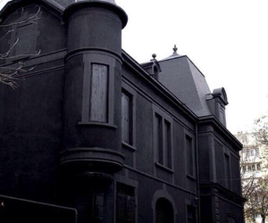 black, house, and castle image