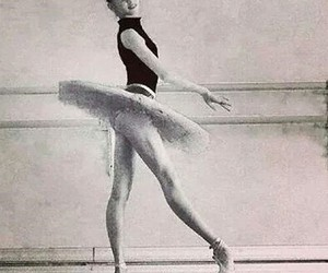 ballet, dance, and legs image