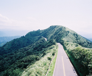 road, nature, and landscape image