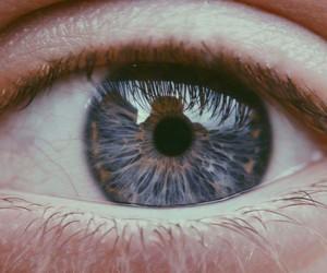 blue, beautiful, and eye image