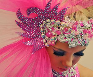 beautiful, dance, and pink image