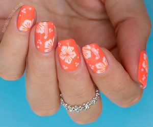 nails and orange image