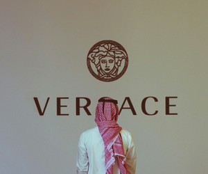 Versace, arab, and saudi image