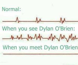 dylan o'brien and heart image