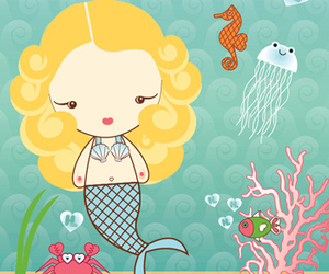 mermaid, Harajuku, and cute image