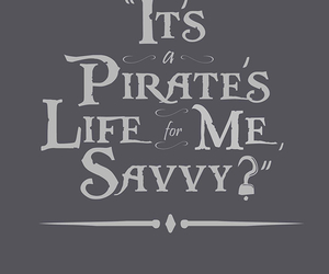 pirate, quote, and johnny depp image