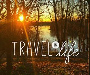 life, travel, and sun image