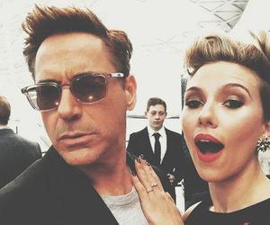robert downey jr, Scarlett Johansson, and black widow image