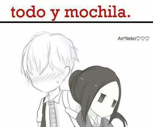 chibi, frases anime, and kawaii image