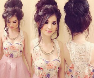 dresses, fashion, and hair image