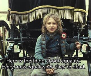 child, les miserables, and movie image