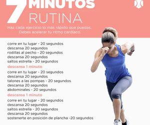 exercise, rutina, and instafit image