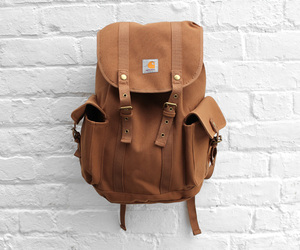 bag, fashion, and brown image