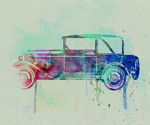 art, car, and painting image