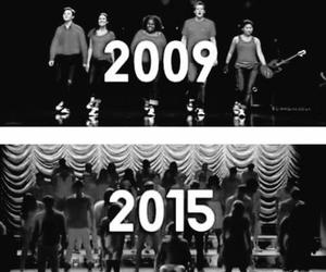 glee, dontstopbelieving, and love image