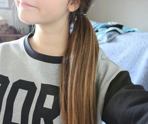 hair, tumblr, and cute image