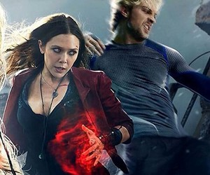 Avengers, elizabeth olsen, and quicksilver image