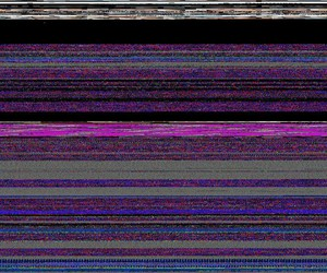 colores, glitch, and vhs image