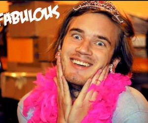 pewdiepie, fabulous, and funny image