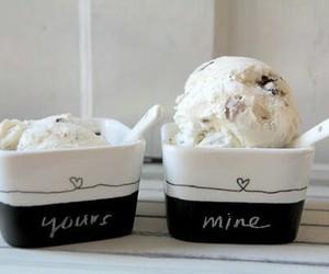 ice cream, food, and mine image