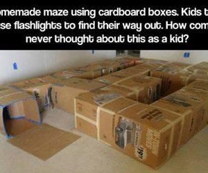 kids, diy, and maze image