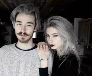 love, couple, and grunge image