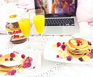 gossip girl, nutella, and food image