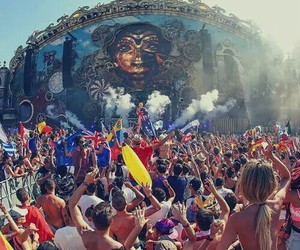 Tomorrowland, music, and dj image