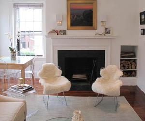 modern furniture, louis ghost chair, and kitchen table and chairs image