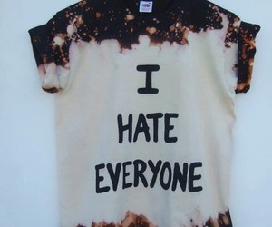bleach, fashion, and hate image