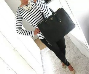 black, fancy, and handbags image