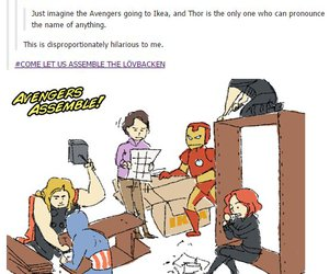 captain america, iron man, and thor image