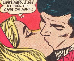 kiss and pop art image