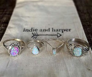 fashion, jewellery, and indie image