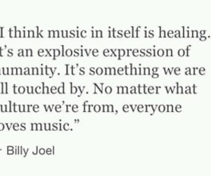music, quote, and billy joel image