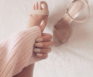 heels, lovely, and nails image
