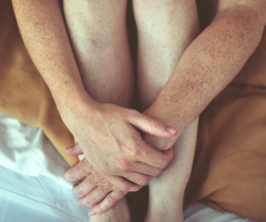 arms, feet, and freckles image