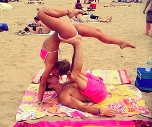 beach, fitness, and forever image