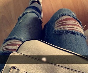 fashion, jeans, and snapchat image