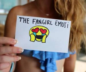 happy, fangirl, and emotions image