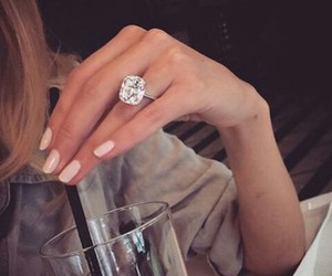 nice, ring, and dimond image